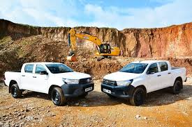 Toyota Hilux proves the toughest choice for JCB   Pick-up News